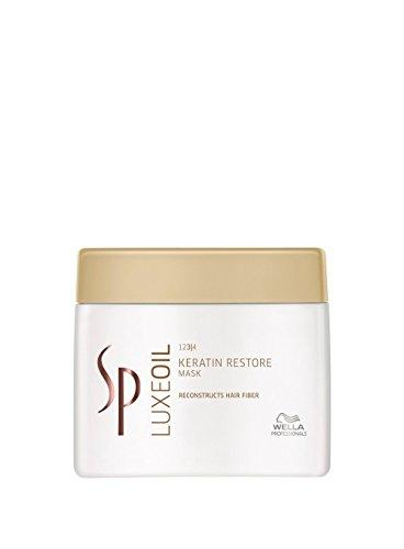 Wella SP System Professional Luxeoil Keratin Restore Mask, 1er Pack, (1x 400 ml)