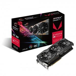 Asus ROG Strix RXVEGA64-O8G-Gaming Grafikkarte (AM...